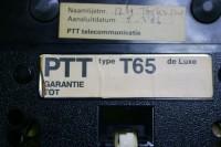 Afwijkende labels T65 Zwart