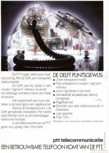PTT T65 Delft flyer achter
