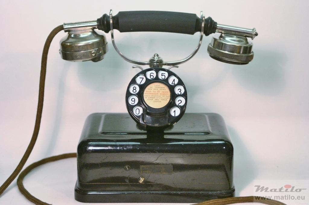 telefoon vroeger tot nu