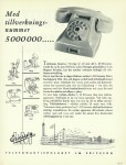 Ericsson advertentie 1953