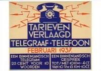 PTT reclame 1937
