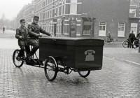 PTT monteurs 1940 bakfiets