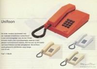 PTT catalogus Unifoon 1987