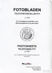 Fotobladen telefoontoestellen en aanverwante apparatuur PTT 1960
