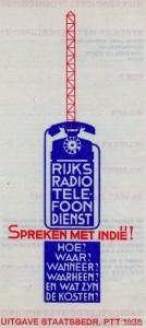 Rijksradio telefoondienst 1935