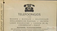Telephone guide 1957 top