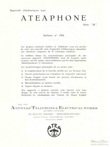 Ateaphone catalogue series 28