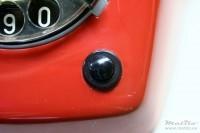 """Een zwart """"wit"""" knopje"""