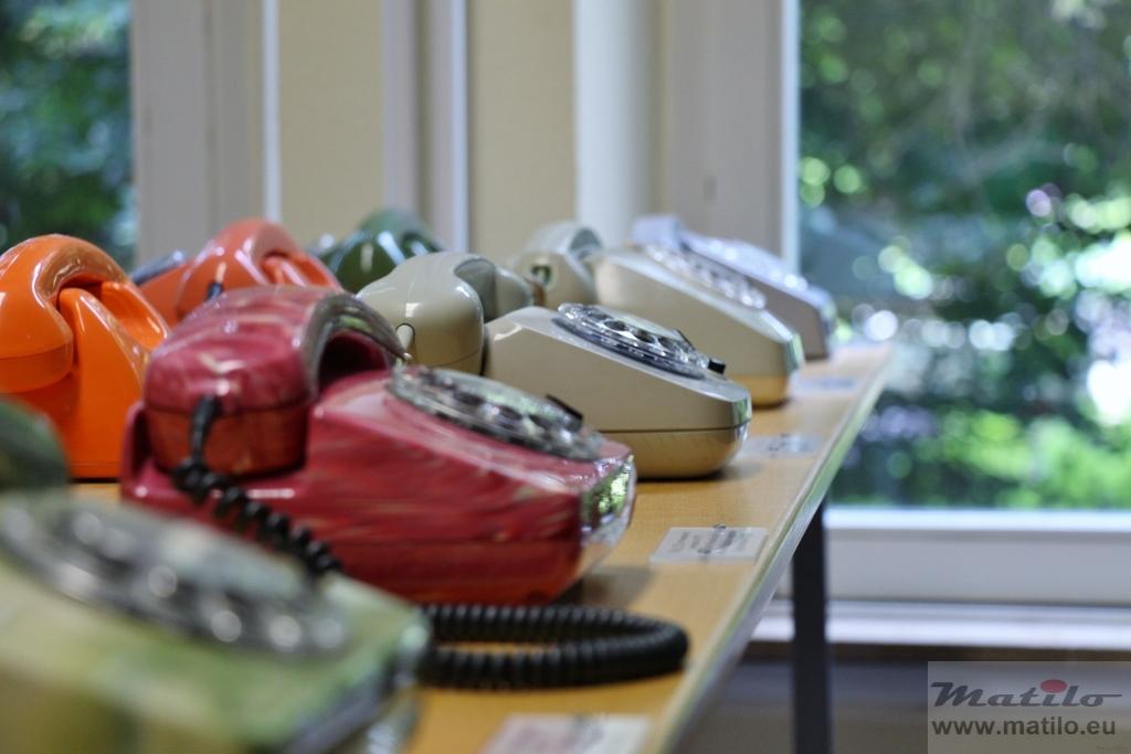 Museum Morbach plastic telephones