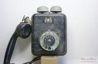 Fake telephone front