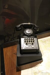 Siemens telephone handset bracket