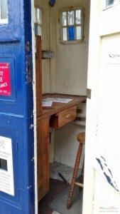 Police box inside