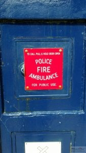 Police box panel