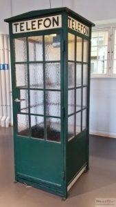 Enigma telephone booth