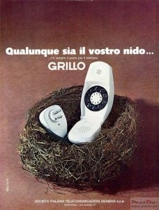 Grillo advert 1