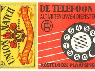 RTT matchbox Dutch