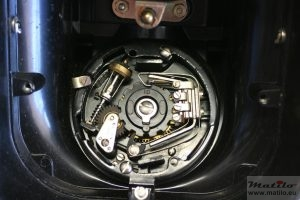 BTMC dial cleaned and installed