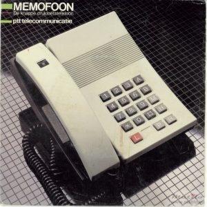 PTT memofoon single voor