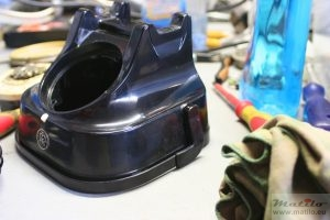 RTT 56 polishing body shell