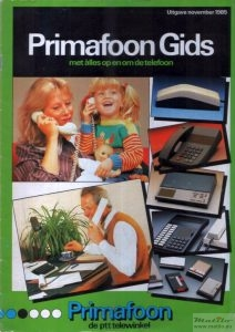 Primafoon catalogus 1985