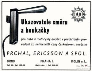Prchal Ericsson advert