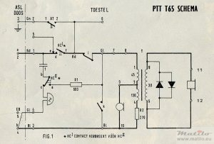PTT T65 diagram