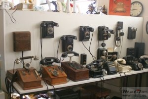 Houweling Telecom Museum telefoons
