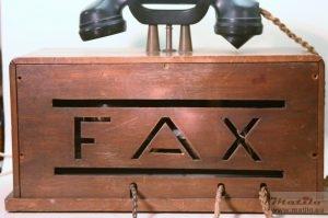Tele-Fax achterzijde