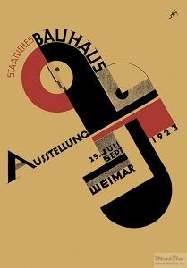 Bauhaus exhibition poster 1923