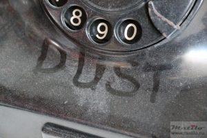 Telephone dust