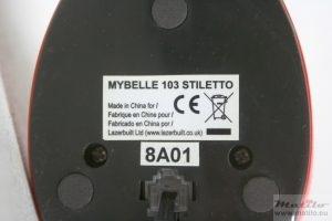 Mybelle 103 Stiletto underside