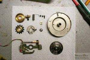 Ericsson PGEM dial parts