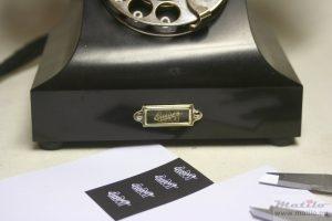 Ericsson PGEM making labels