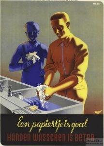Handen wasschen!