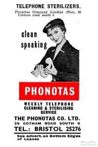 Phonotas advert