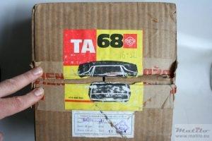 VEF TA-68 box