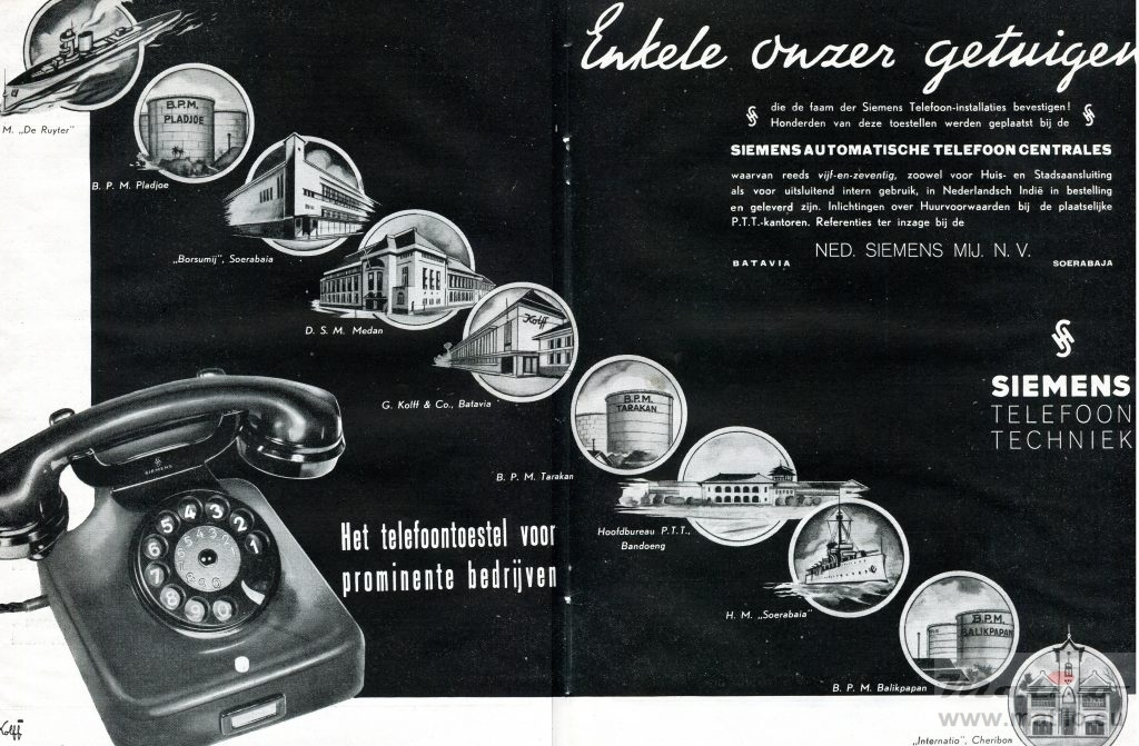 Siemens Nederland 1938 model 36