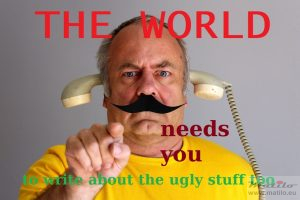 The world needs you poster