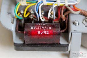 Red mercury capacitor