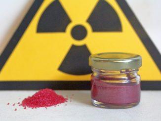 Red mercury crystals and liquid
