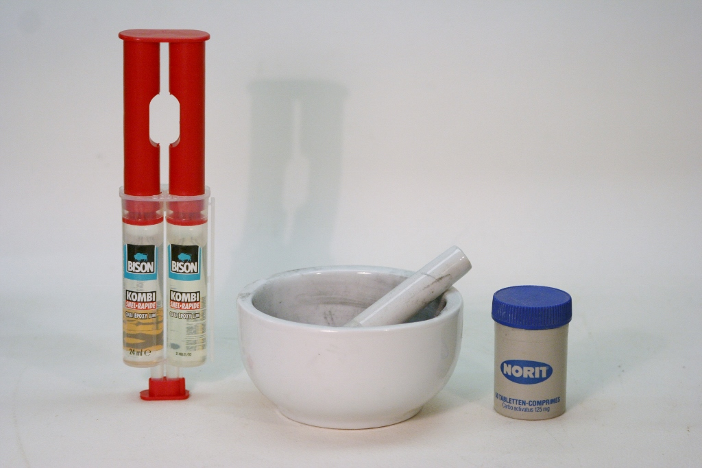 Epoxy Resin Pestle And Mortar Norit
