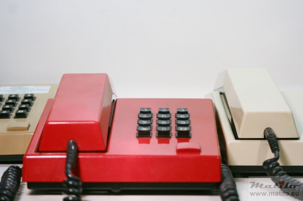 Unifoon beige rood en wit